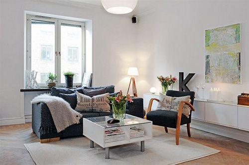 Scandinavische woonkamer - Woontrendz | Woonkamer ideetjes | Pinterest
