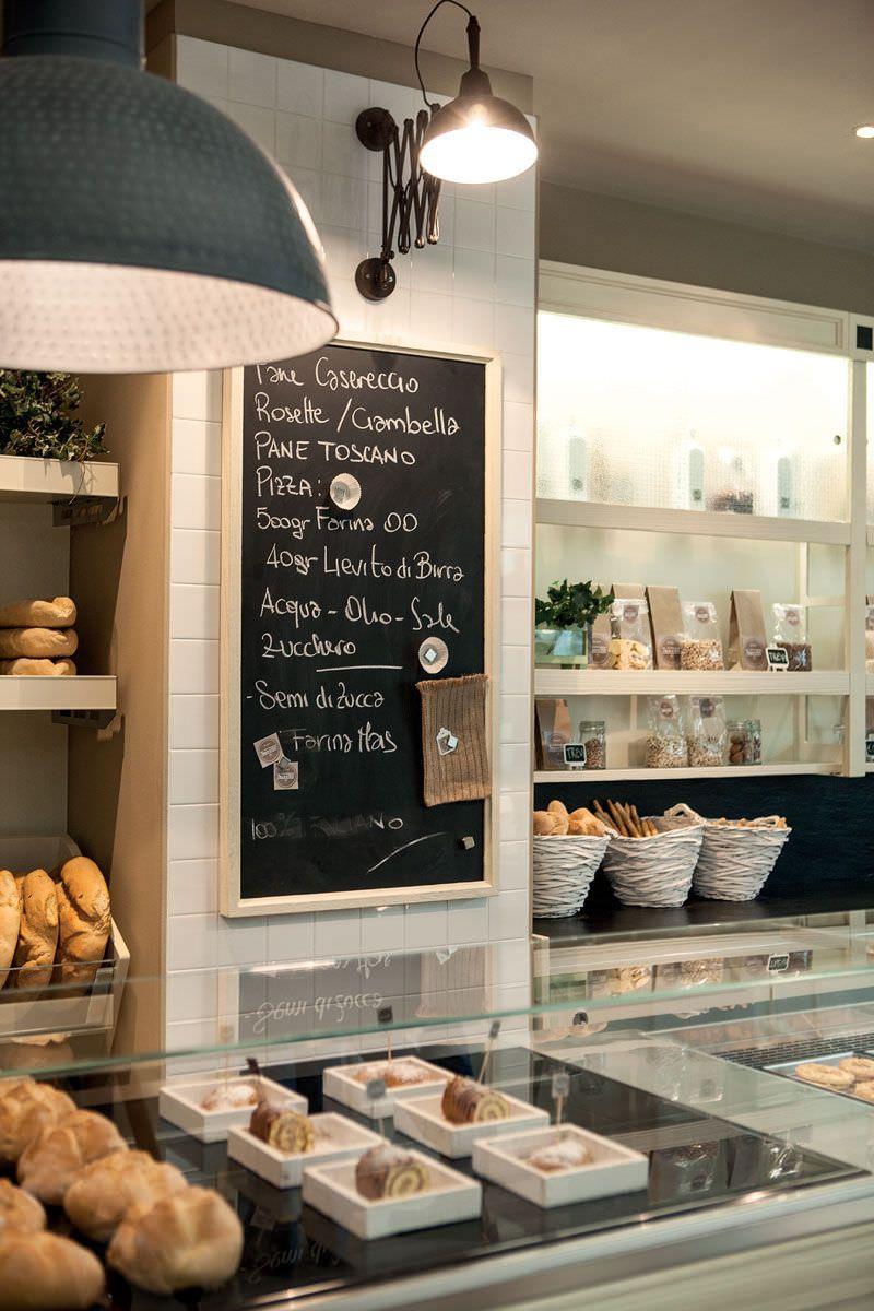 Bakery display case trevi frigomeccanica bakery for Coffee shop display ideas