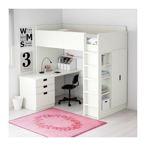 Letto A Castello Ikea Bianco.Mobili E Accessori Per L Arredamento Della Casa Letto Soppalco