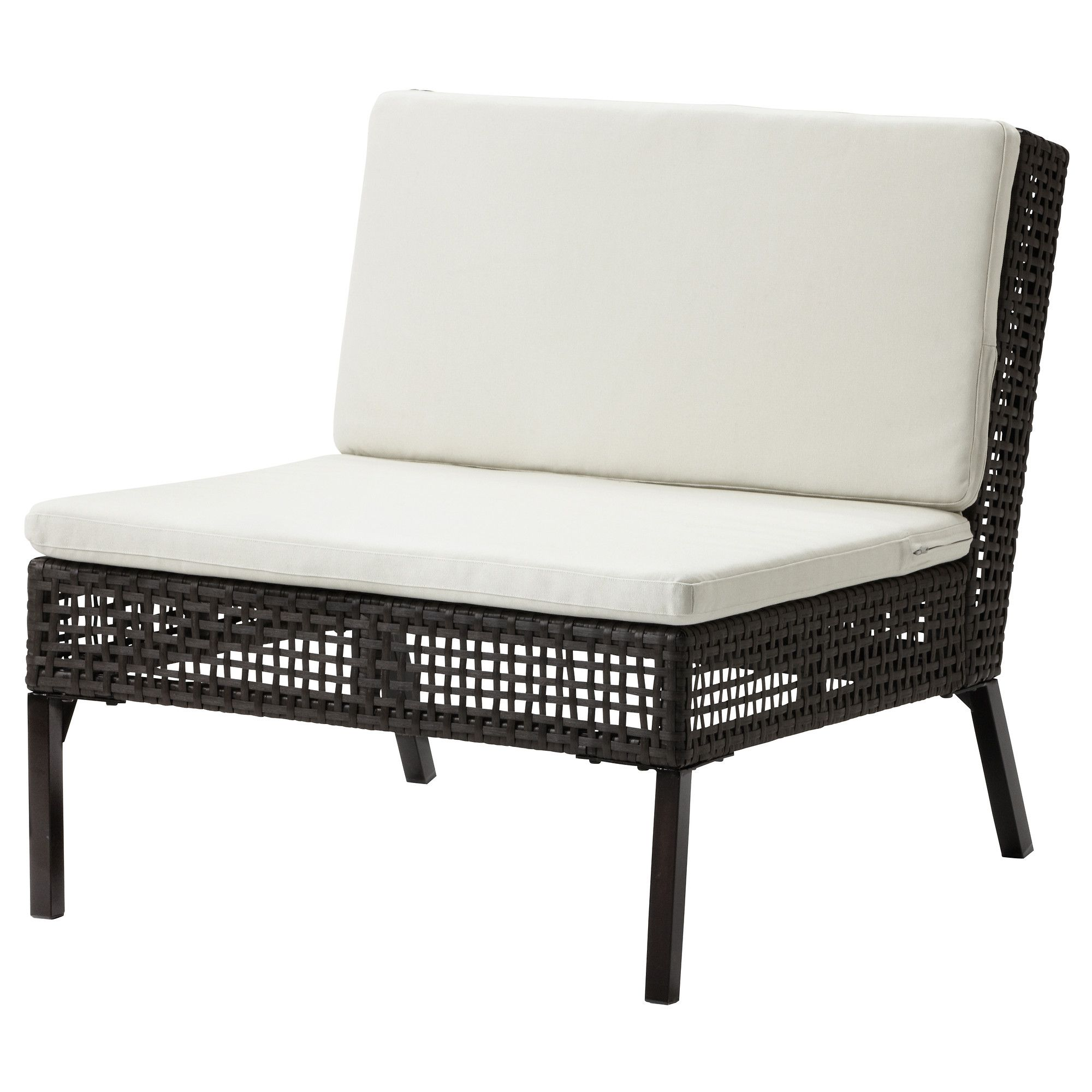 Outdoor Lounge · AMMERÖ One Seat Section With Cushion   IKEA