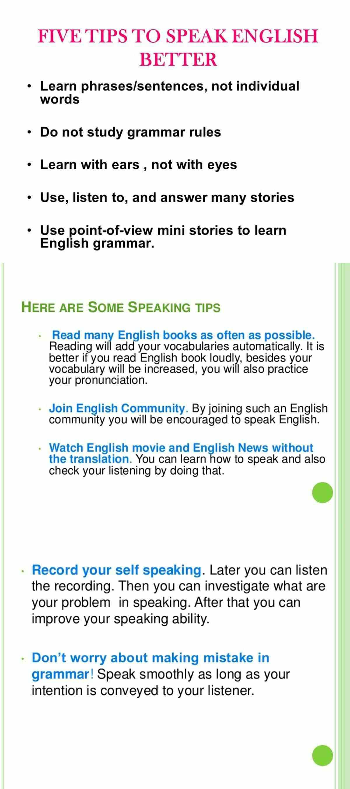 Top Tips For Improving Your English Language Skills Eslbuzz Learning English Learn English Improve Your English Phrases And Sentences How to improve english reading