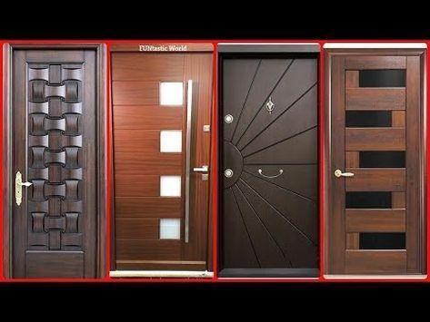 Photo of Top 21 wooden door design for home by wood worker #23 2018 – YouTube – #DESIGN #…