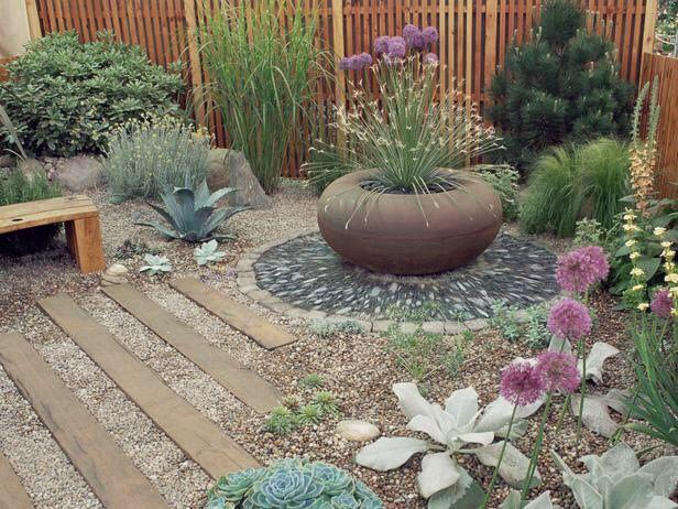 Proyecto de paisajismo para ahorrar agua jardines for Ideas para ahorrar agua