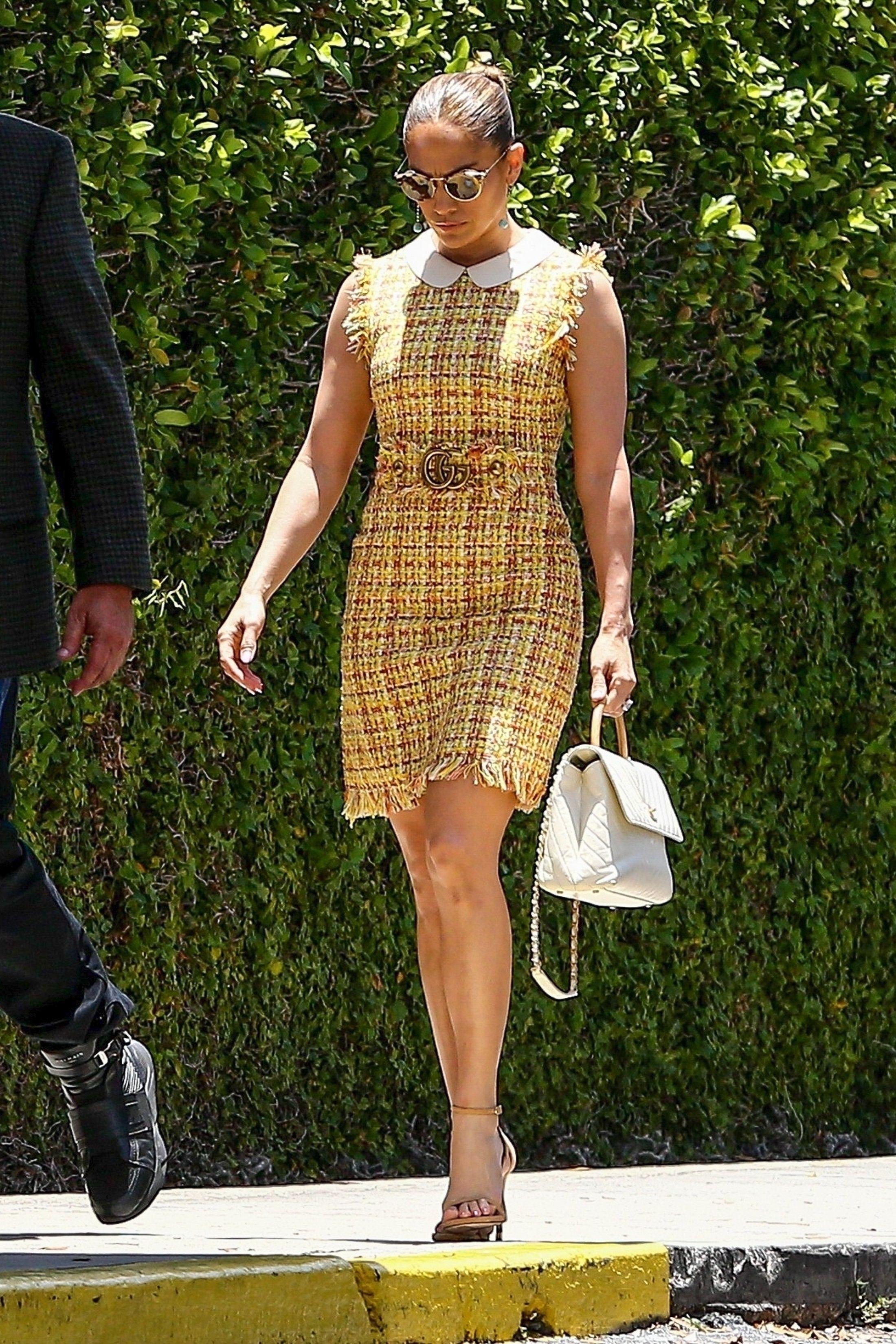 5f6544558 Jennifer Lopez in Gucci steps out in Miami. #bestdressed | Best ...