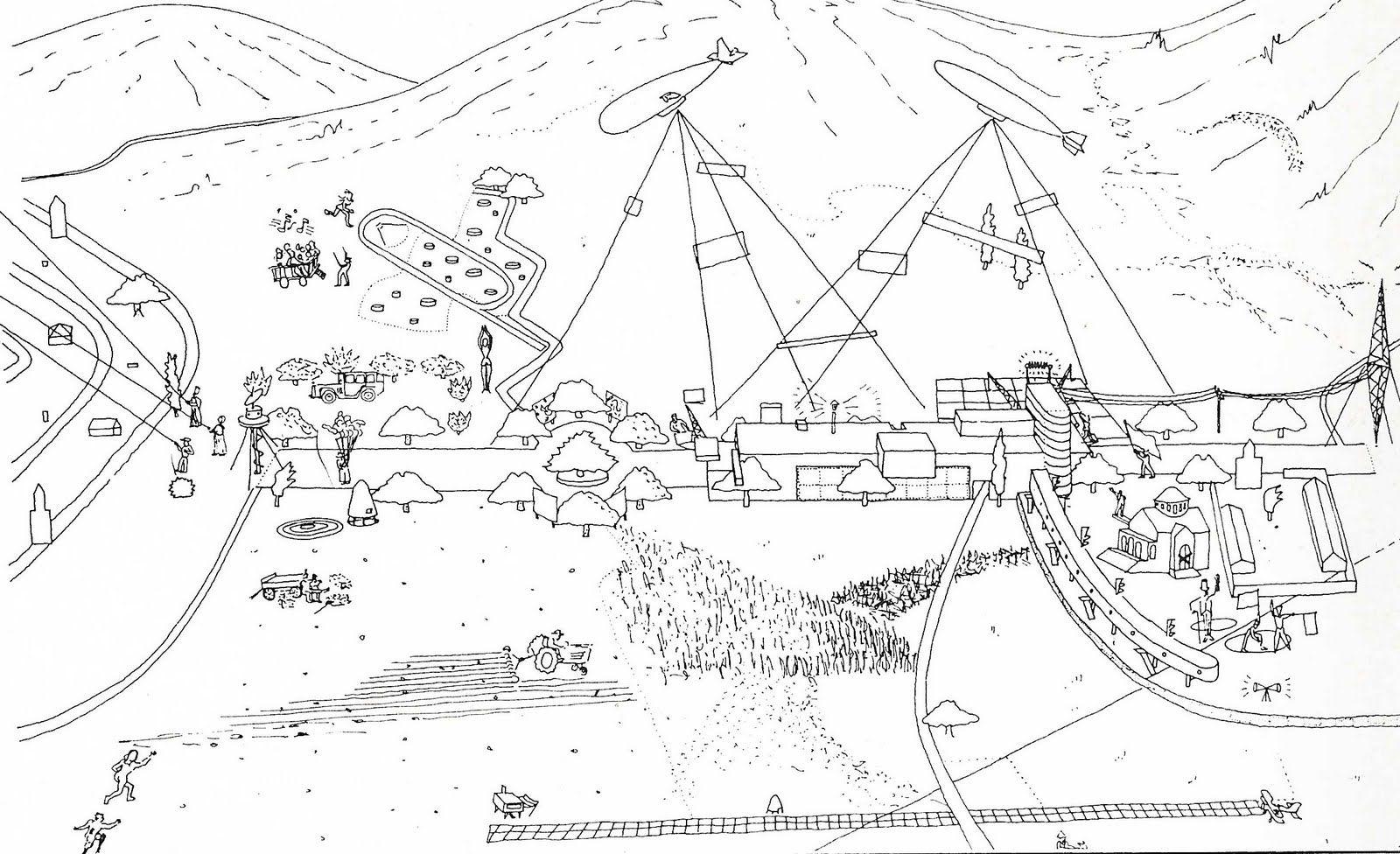 Oma Parc De La Villette Diagram Rheem Wiring Diagrams Rem Koolhaas Early Sketches