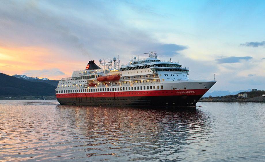 MS Finnmarken Hurtigruten Norway cruise, Tromso, Lofoten