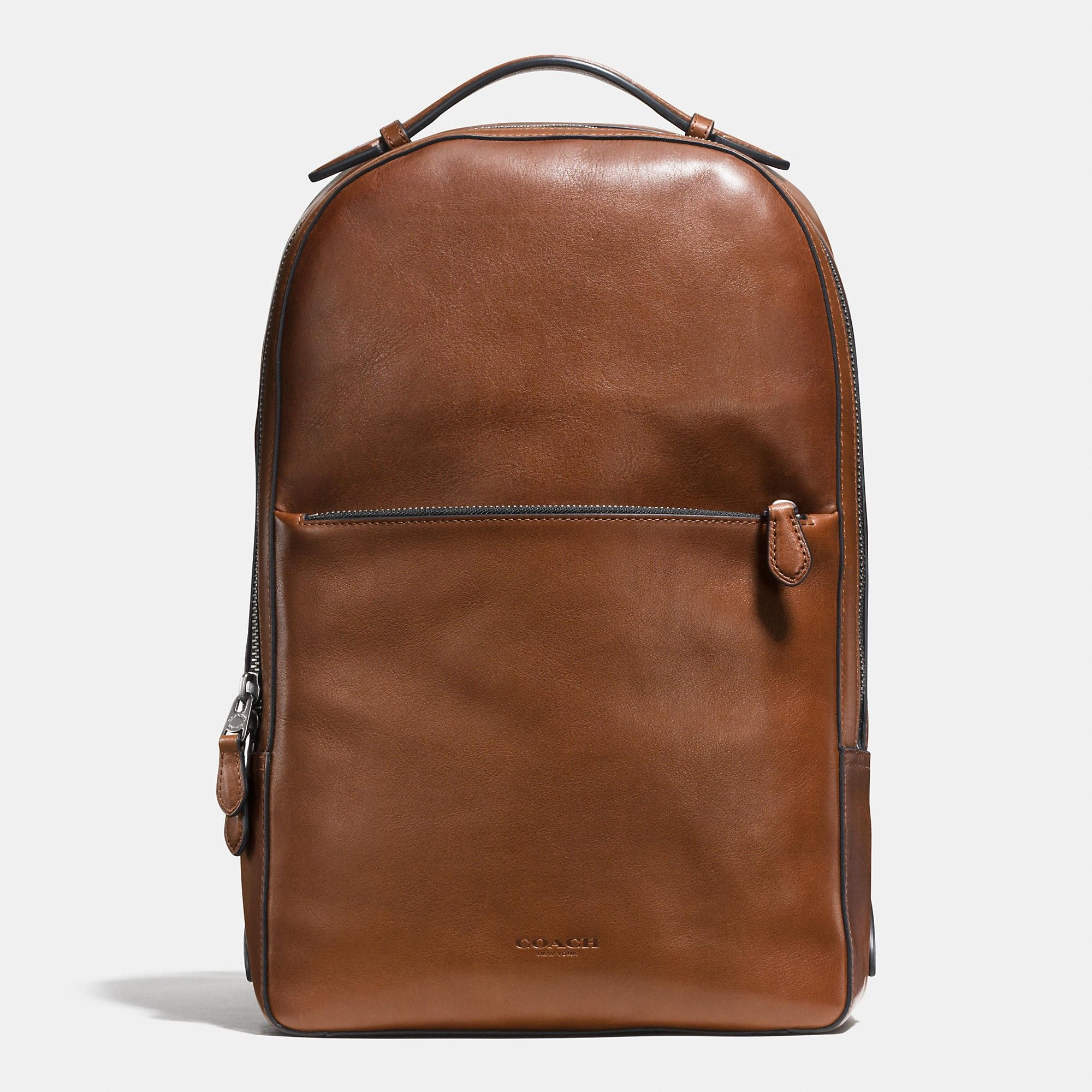 b07b886ae8 COACH METROPOLITAN soft backpack in sport calf leather.  coach  bags   leather  lining  backpacks
