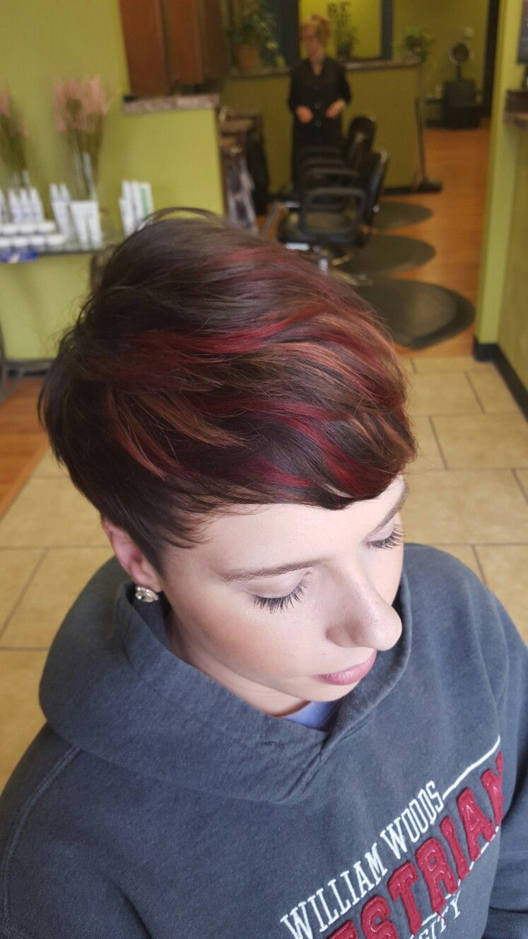 Short brown hair fall hair color red hair copper hair short hair