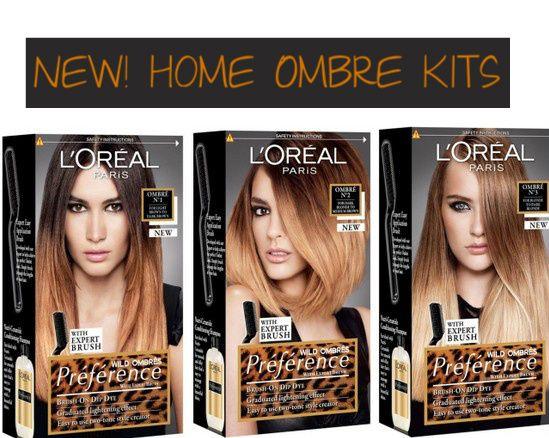L Oreal Paris Preference Wild Ombre Dip Dye Kit Ombre Hair Cabelos Ombre Cabelo