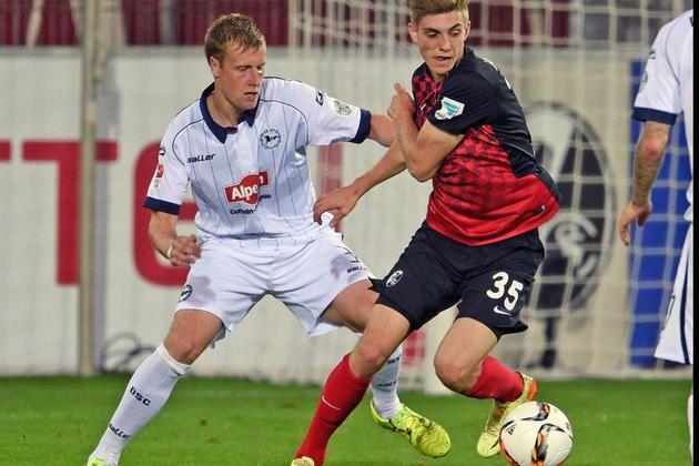 Der Salger-Vertreter findet Gefallen am Abwehrjob bei Arminia – heute gegen Bochum +++  Behrendt will am Ball bleiben