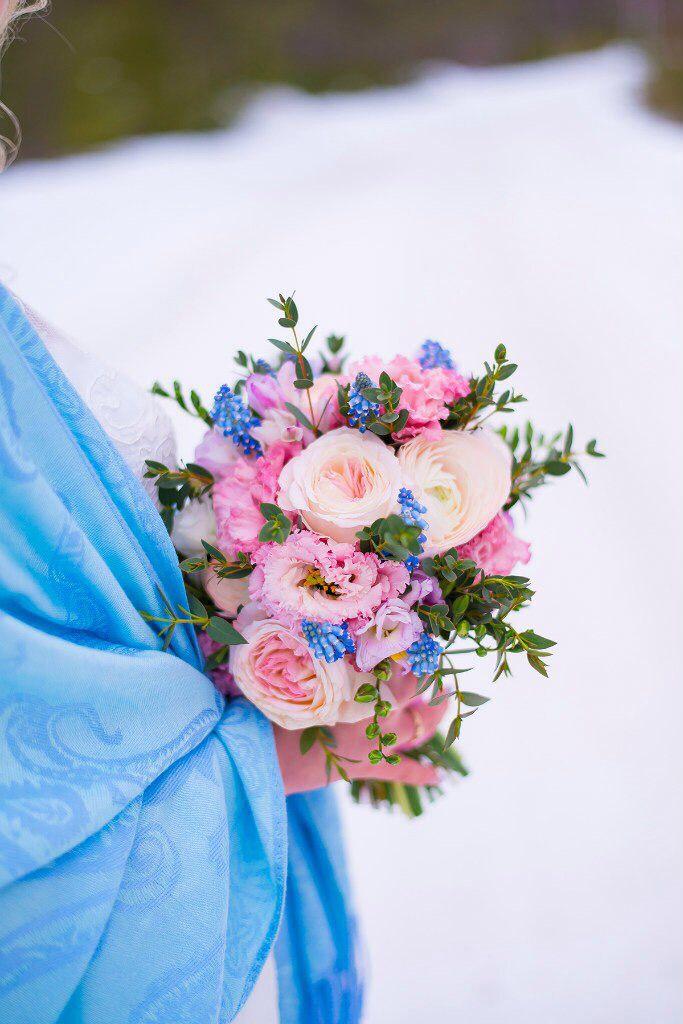 Букет невесты свадебный свадьба живые цветы вдохновение wedding inspiration bouquet bride flowers  #свадьбавмурманске #идеибукета #букетневесты #свадьбамурманск розовый голубой