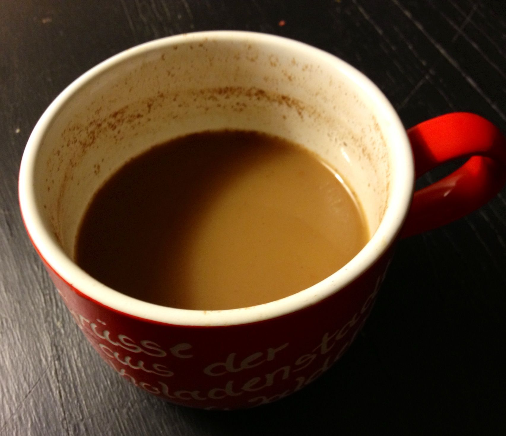 Best Cup Of Coffee Mix 1 4 Teaspoon Of Cinnamon A Pinch