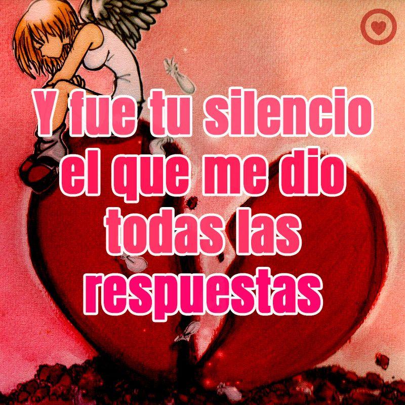 Triste Frase De Amor Con Imagen De Corazón Roto Corazon