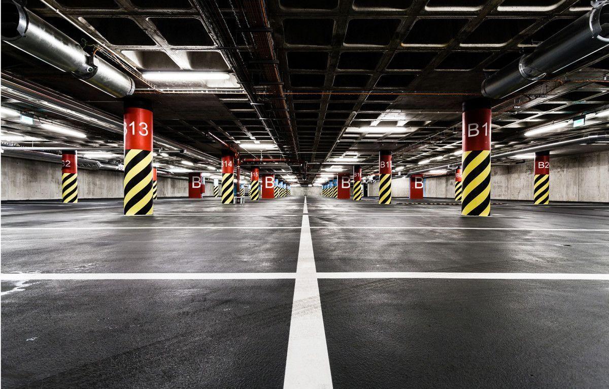 Parking Maintenance Maintenance Parking Maintenancemaintenance Parking In 2020 Underground Parking Garage Light In The Dark