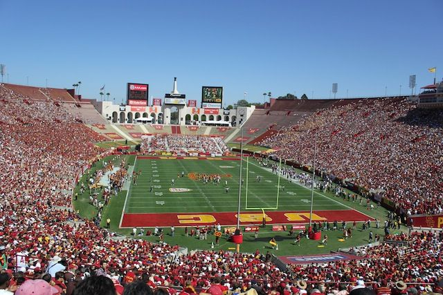 Venues Today Two Landmark Stadiums To Potentially Trade Hands Usc Trojans California Golden Bears Football Usc Football