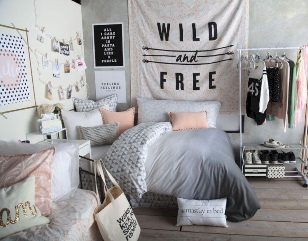 37 Cute Teen Bedroom Designs In Vintage Style images