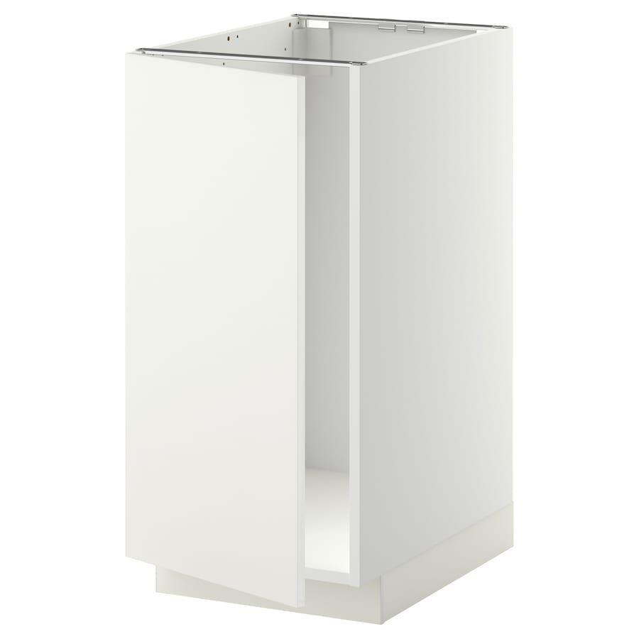 METOD Él bs évier/tri – blanc/Häggeby blanc 40×60 cm