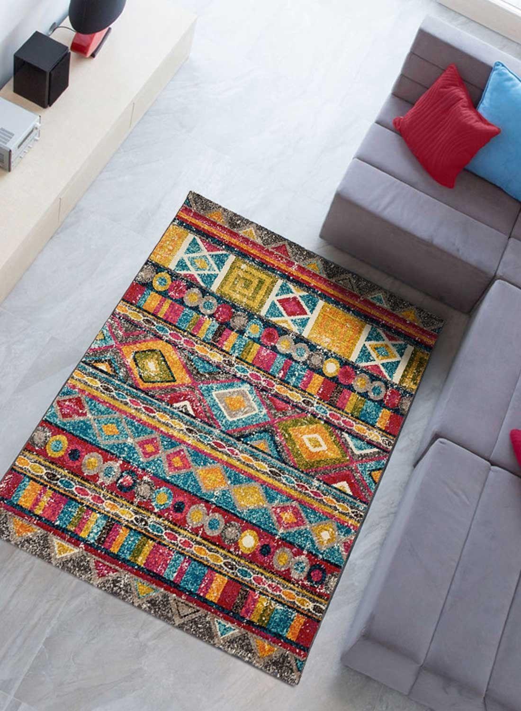 tapis multicolore tapis