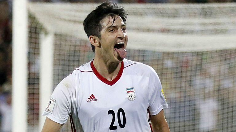 799679509bd Iran were one of the last nations to reveal their white home shirt FIFA 18  World