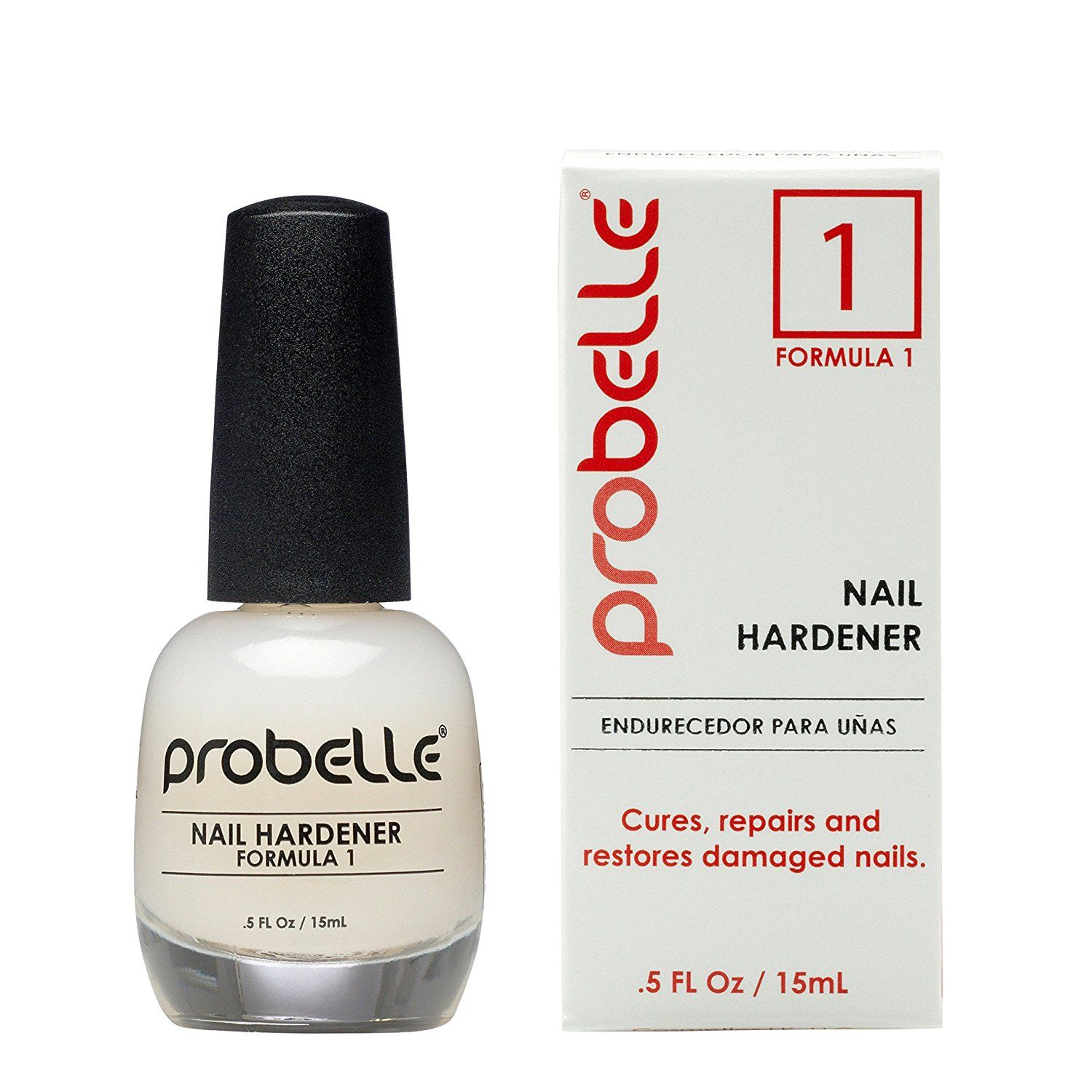 Probelle Nail Hardener Formula 1 - Cures, Repairs and Restores thin ...