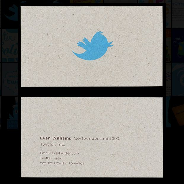 15 stunning business cards from famous people or companies they also have gorgeous business cards reheart Choice Image