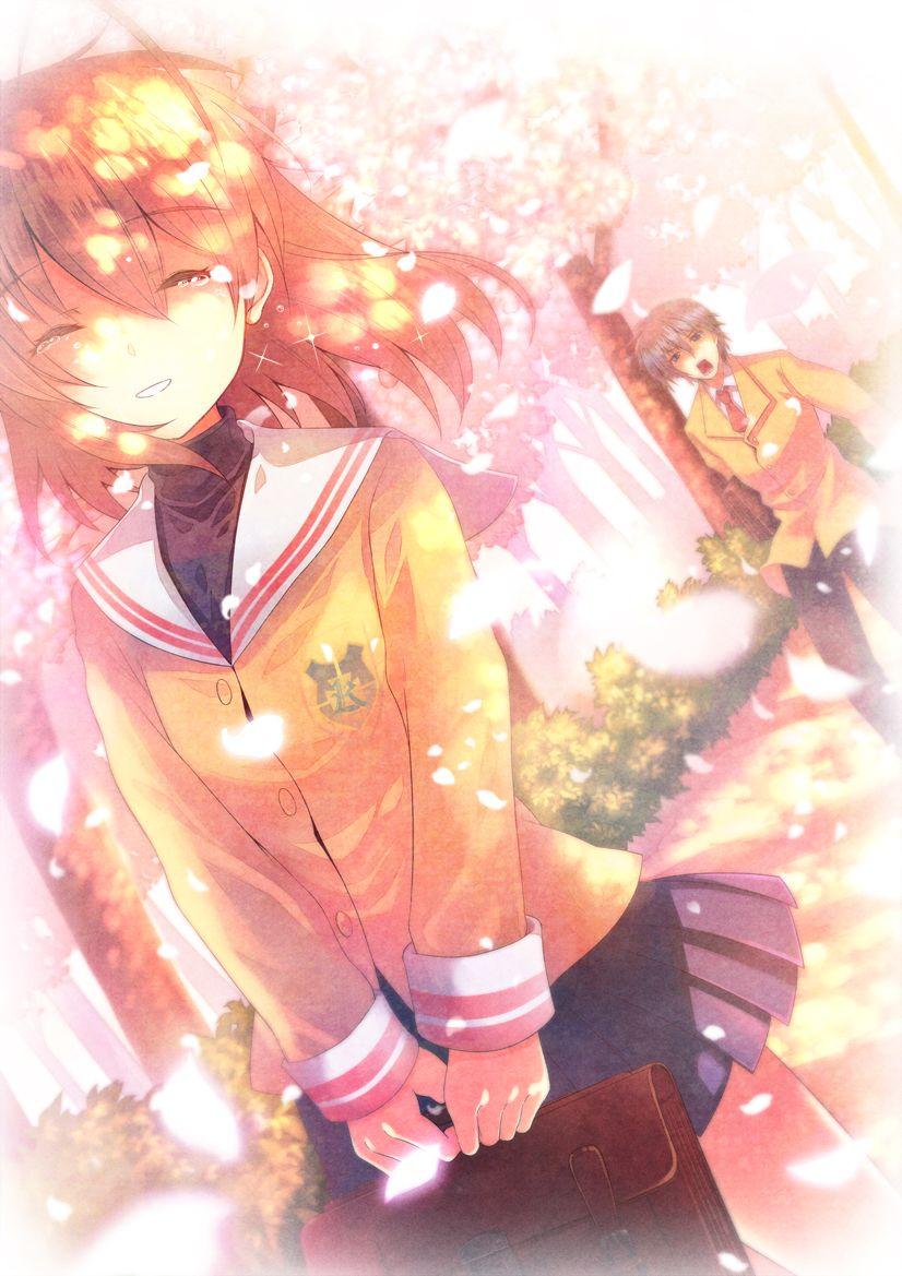 Furai Clannad Okazaki Tomoya Furukawa Nagisa Clannad Anime