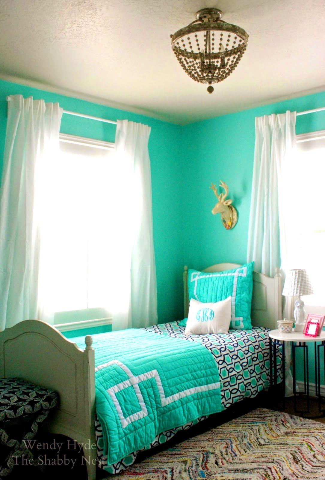 Frische Aqua Schlafzimmer Farbschemata Mit Vesmaeducation Grau Und