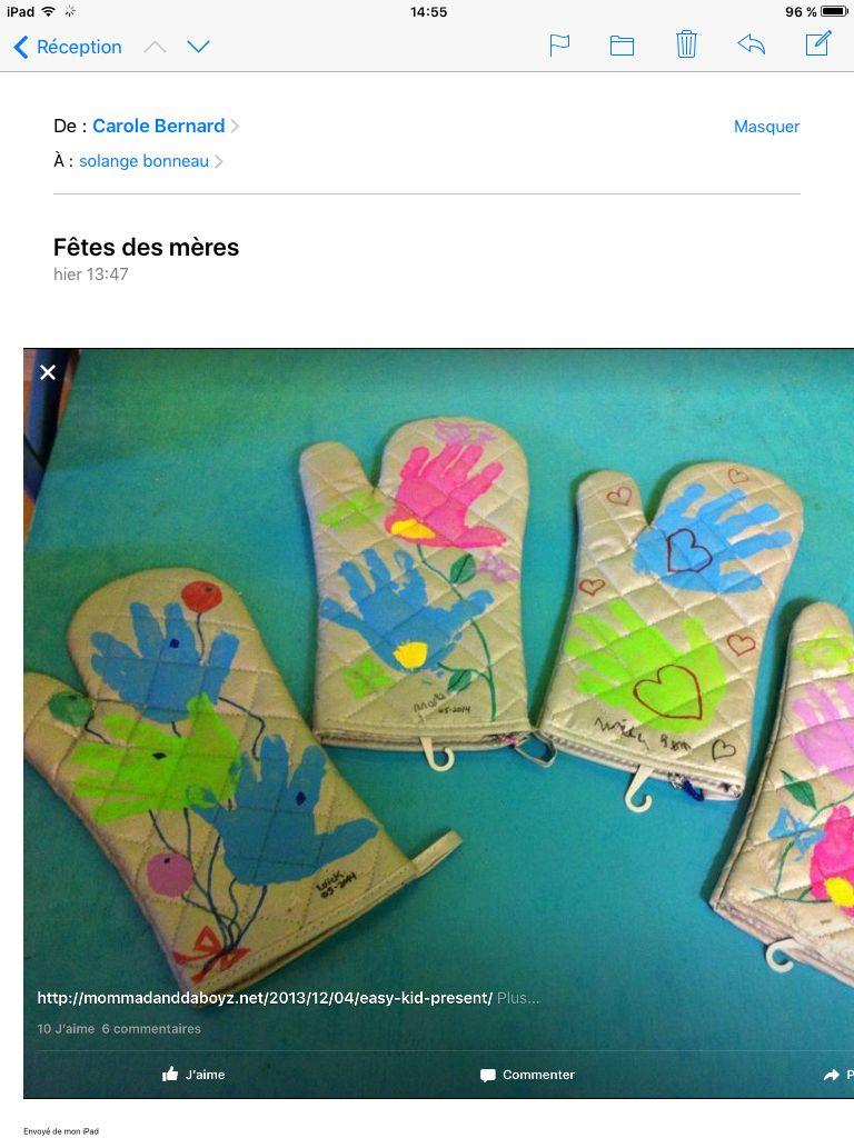 Cadeau fªte des m¨res Craft Pinterest