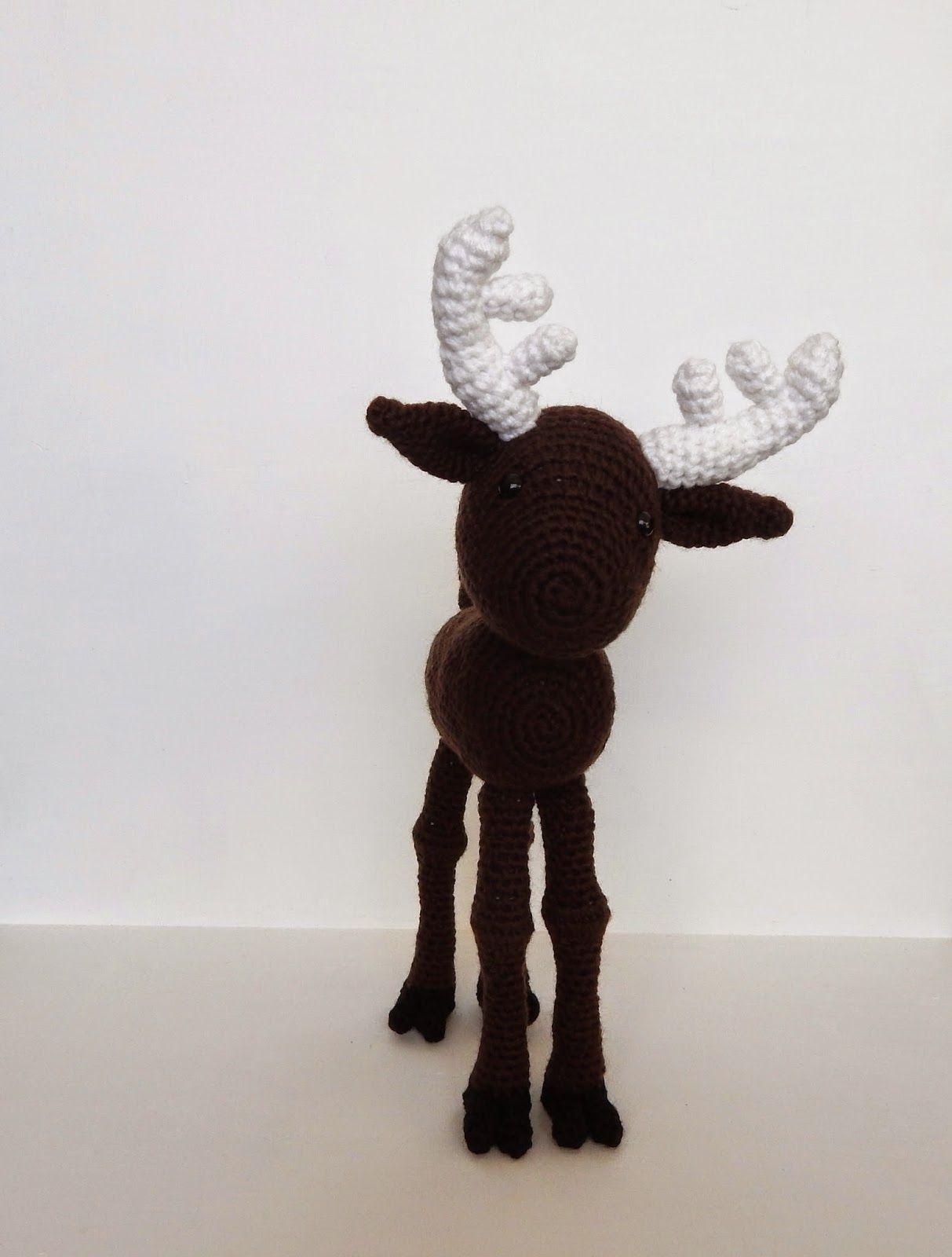 A[mi]dorable Crochet: Moose Pattern | yarn crafts | Pinterest ...