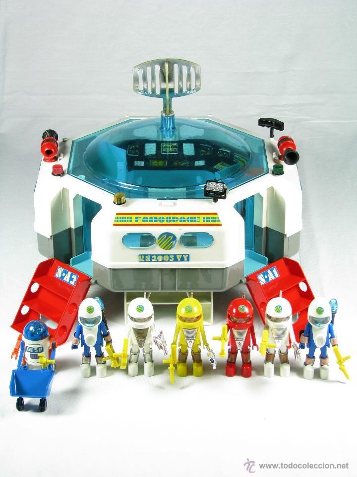 Todocoleccion playmobil nave espacial a os 80 for Nave espacial playmobil