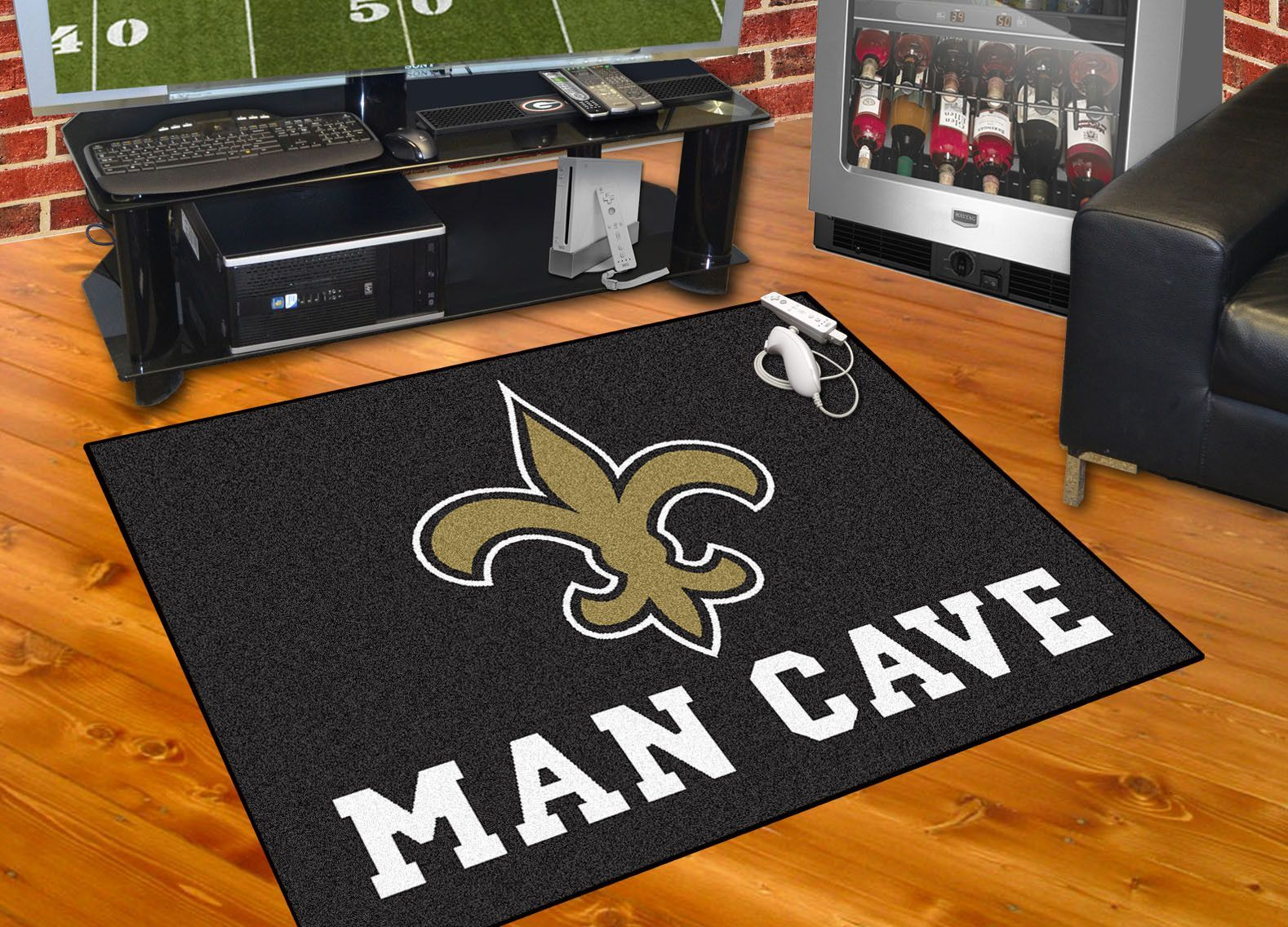 New Orleans Saints Man Cave All Star