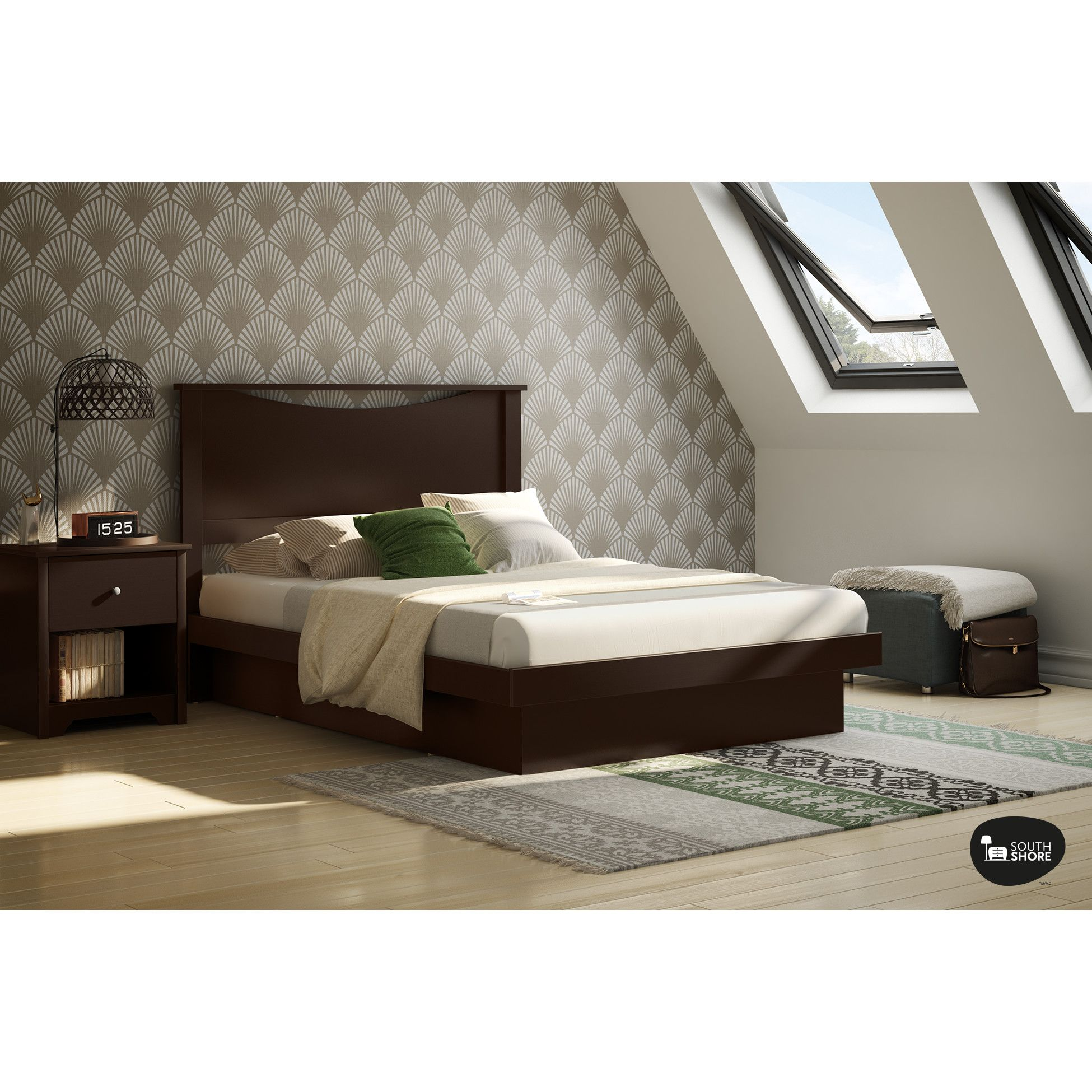 Types Of Beds Platform Bed With Molding