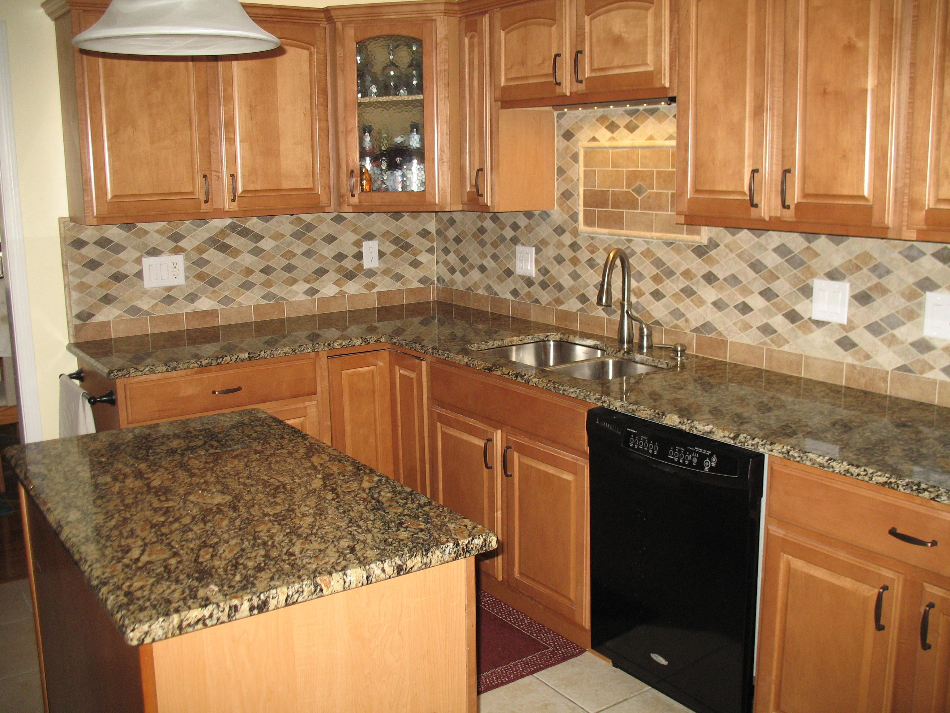Oak Cabinets With Granite Countertops Pictures Golden Oak Cabinets Granite Countertops Portofino