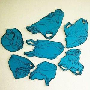 Art Plastic Bag Drawing
