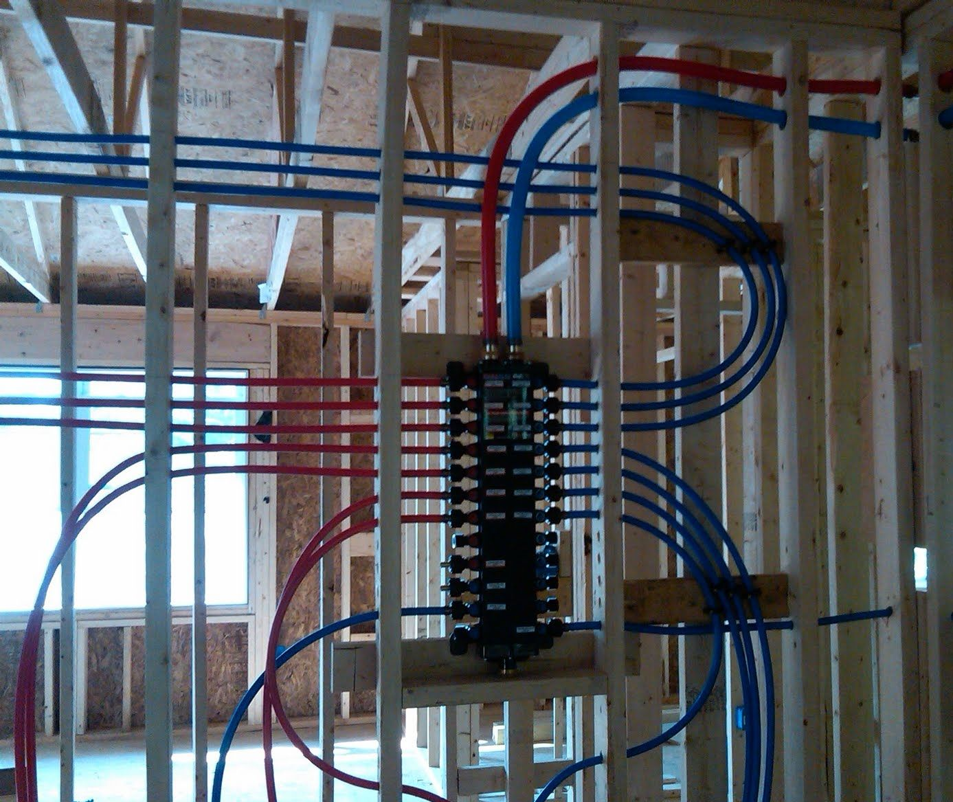 Mechanical Room Layout: Best Pex Plumbing Manifold - Google Search