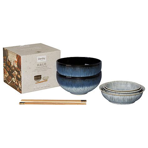 Buy Denby Halo Asian Dinnerware Set 7 Pieces Online at johnlewis.com  sc 1 th 225 & Buy Denby Halo Asian Dinnerware Set 7 Pieces Online at johnlewis ...