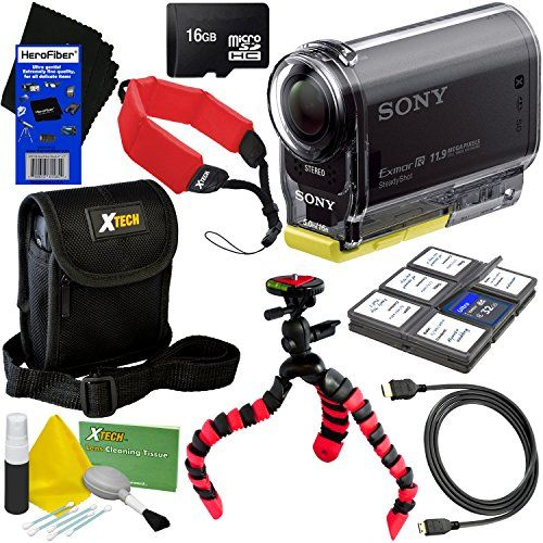 Shoot without the shake with this Sony HDR- AS20 Full HD Camcorder ...