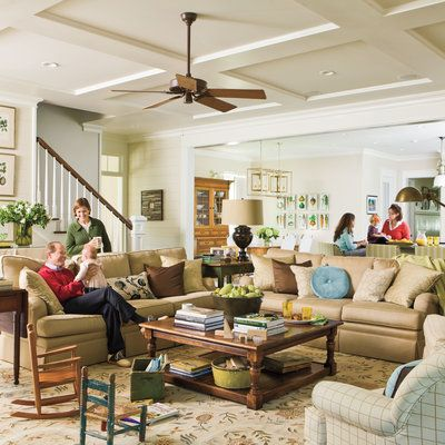 Make Room For Family   104 Living Room Decorating Ideas   Southern Living