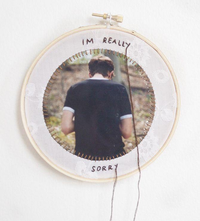 Sentimentos e trabalho manual na arte de Lindsay Bottos