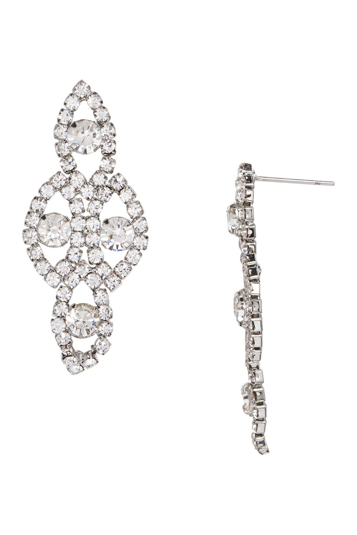 Joe fresh pave crystal chandelier earrings chandelier earrings joe fresh pave crystal chandelier earrings nordstrom rack arubaitofo Choice Image