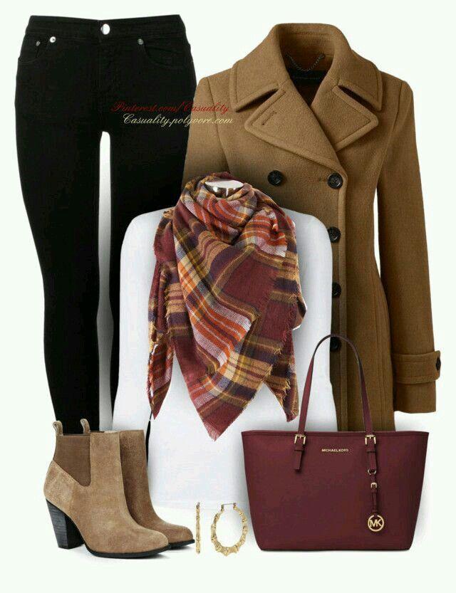 b9d576aa0e495 Outfit para un día frío • | Ropa ~ Clothes in 2019 | Fashion, Autumn ...
