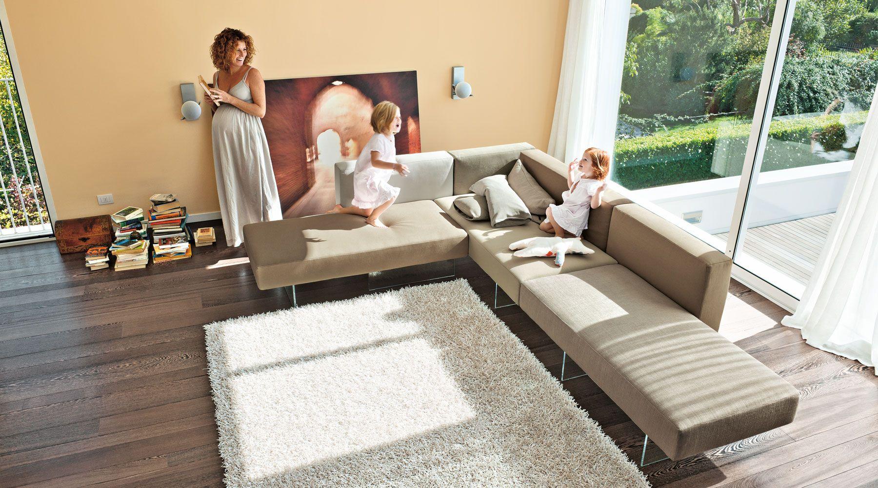 Mobili di design per il soggiorno living design per il for Divani per soggiorno