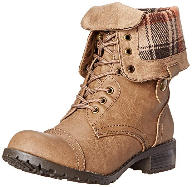 Marco Republic Expedition Womens Military Combat Boots - (Taupe) - 5.5