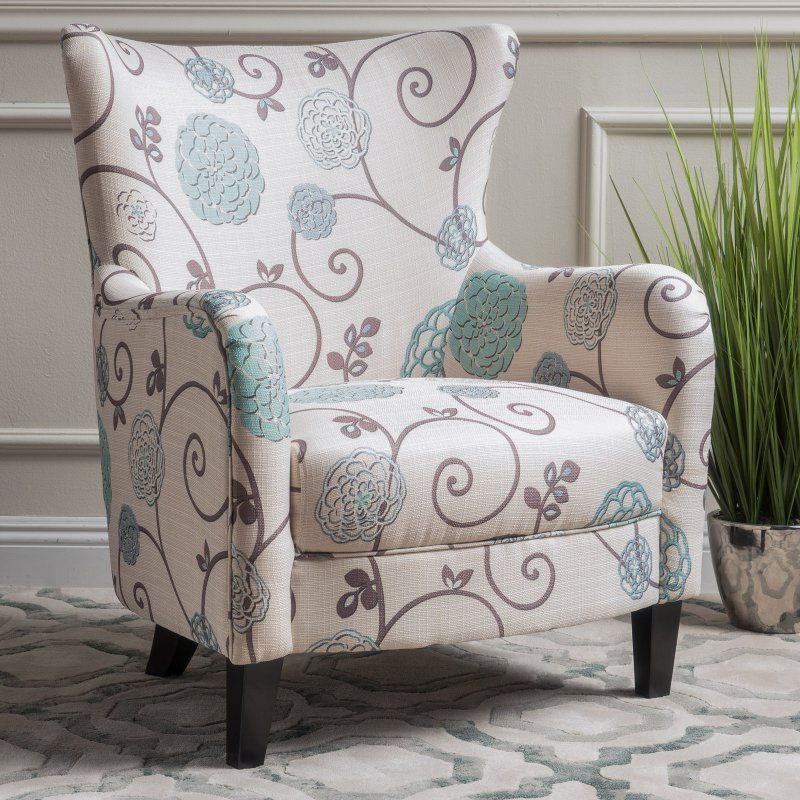 Best Selling Home Azaria Floral Fabric Club Chair 300040 400 x 300