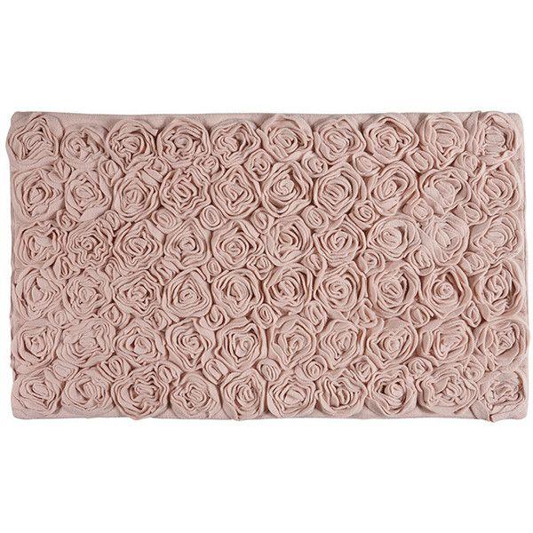 34 X20 Performance Textured Bath Rug Blush Pink Threshold