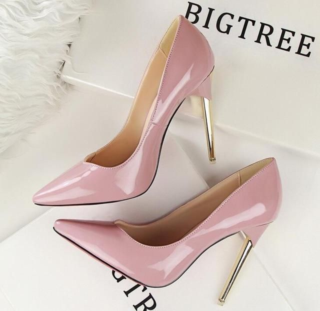 951d767d03 Bigtree Shoes Woman High Heels Pumps Red High Heels 12CM Women Shoes High  Heels Wedding Shoes Pumps Black Nude Shoes Heels
