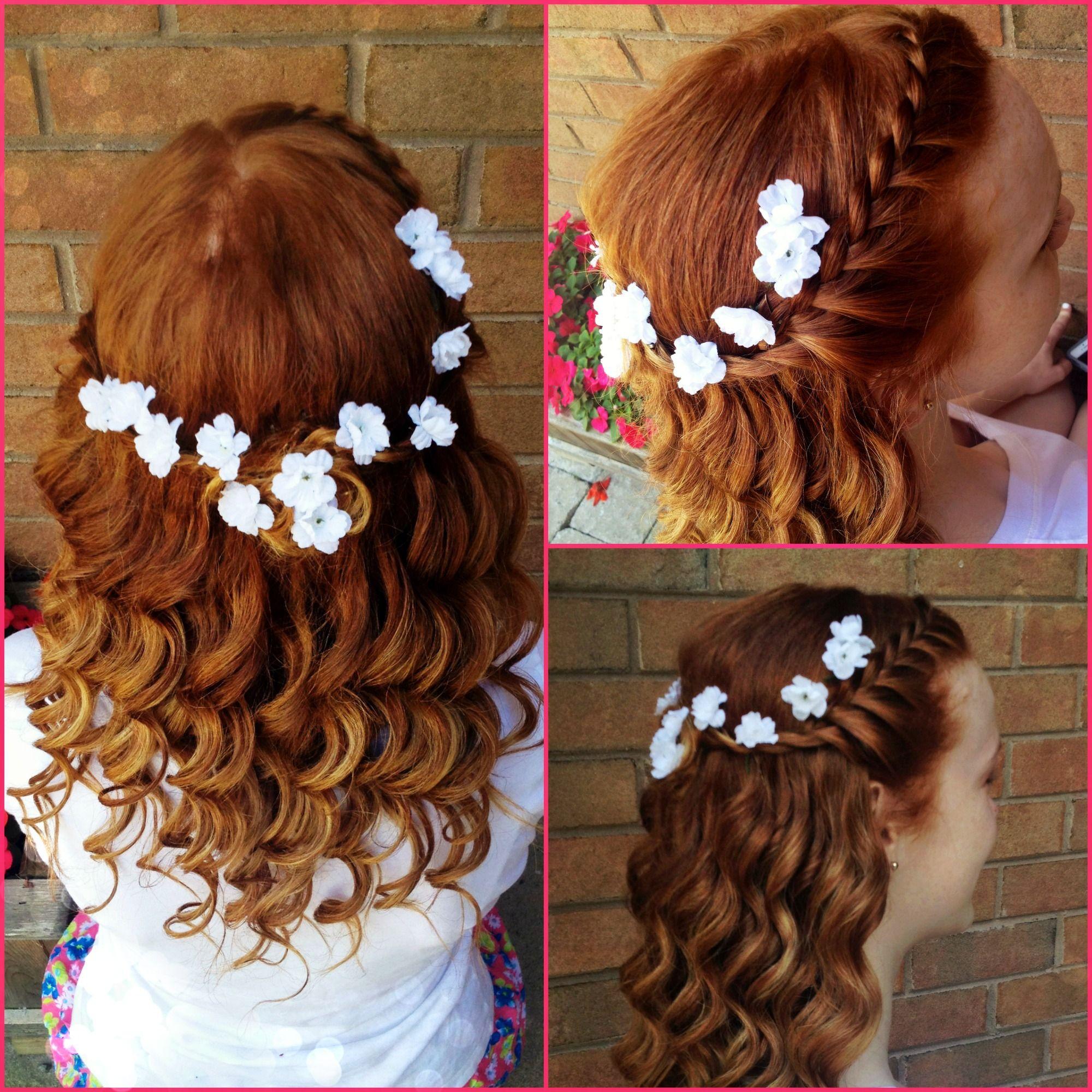 Beautiful half up half down do on my gorg friend hair u beauty