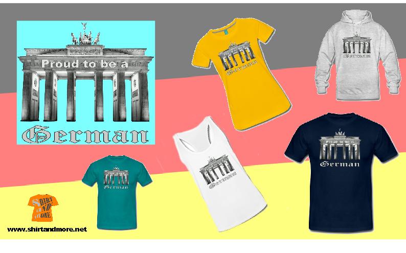 Zeige, dass Du stolz darauf bist, ein Deutscher zu sein: https://www.spreadshirt.de/stolzer-deutscher-A105953183#/detail/105953183