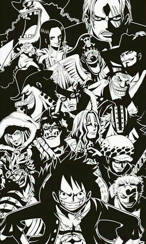 Iphone One Piece Manga Wallpaper