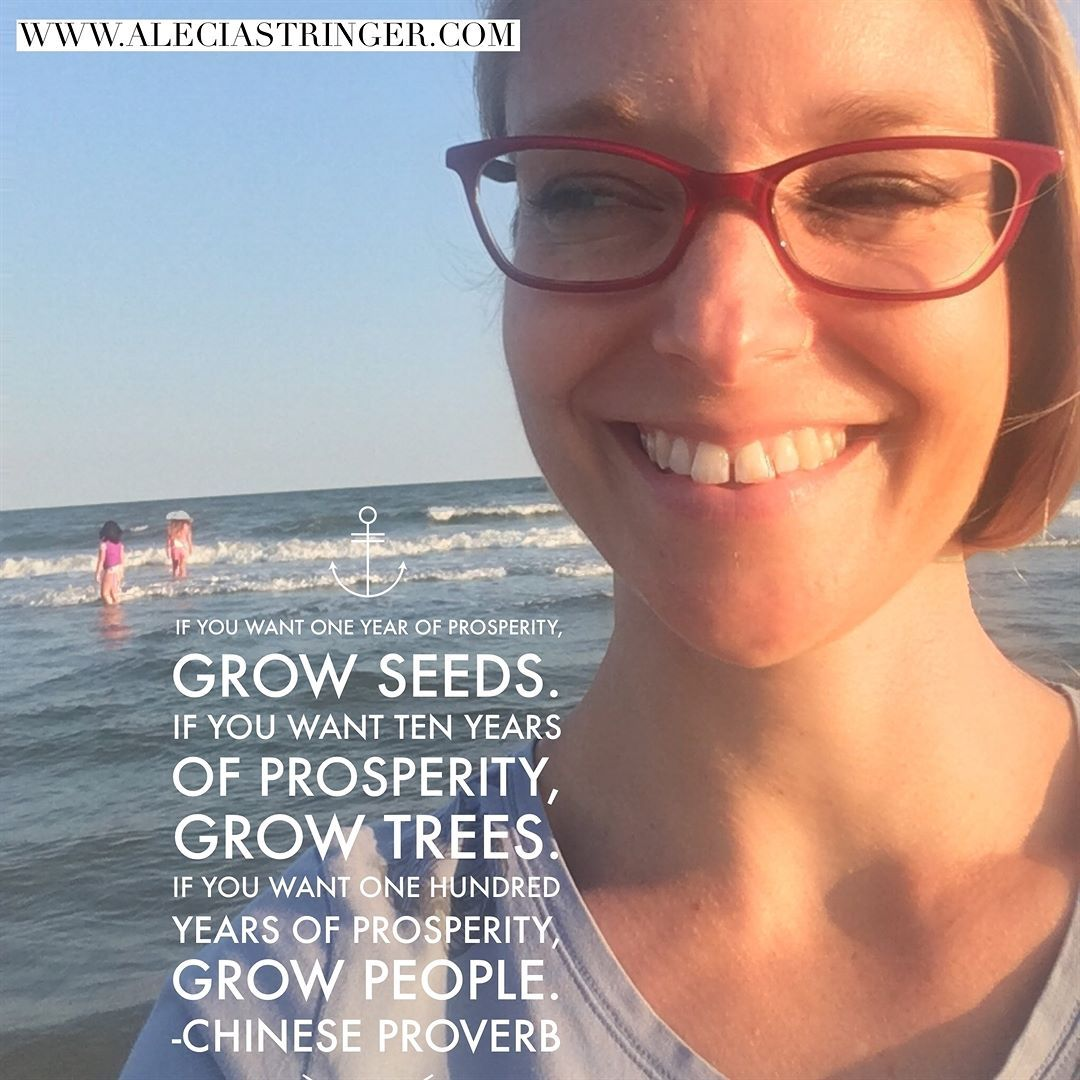 If You Want One Year Of Prosperity Grow Seeds If You